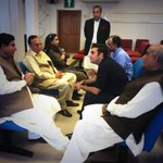 Met #PPP leadership @ LHR airport b4 heading 2 #Chiniot for #floodrelief http://t.co/wa5if0NTEp