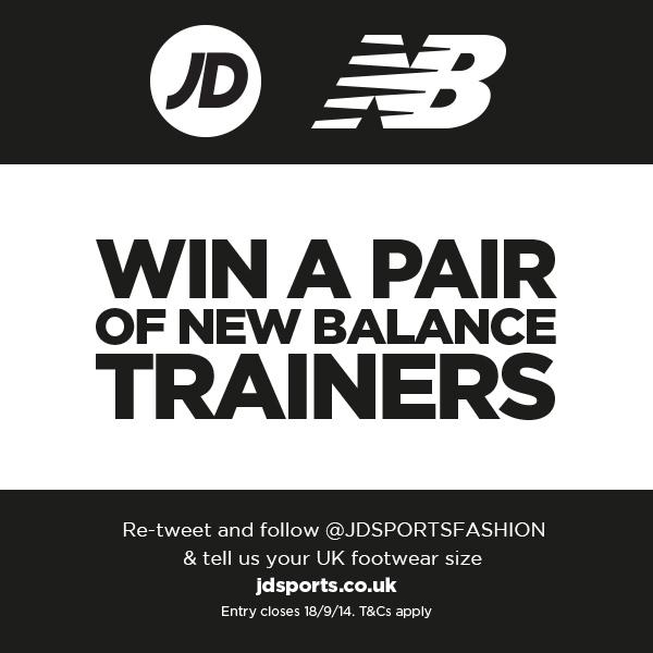 We've hit 50k followers! RT, follow & tell us your UK size to #win a pair of @NewBalanceUK. #Comp ends 23:59 18/09. http://t.co/wmAXUEnKyj
