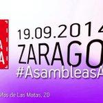 RT @JLambanM: Mañana en Zaragoza #AsambleasAbiertas @PSOE con @sanchezcastejon 1900h @ZGZActiva (Azucarera) http://t.co/YDe5641dsW http://t.co/oZ7VFpOsj5