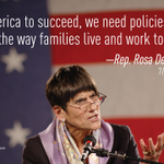 RT @CAPWomen: Rep. @rosadelauro is right. Tune in to hear her on #Progress4Women at 11:30am ET at http://t.co/hyaRwu8RK5 http://t.co/AVjU6D6U9F
