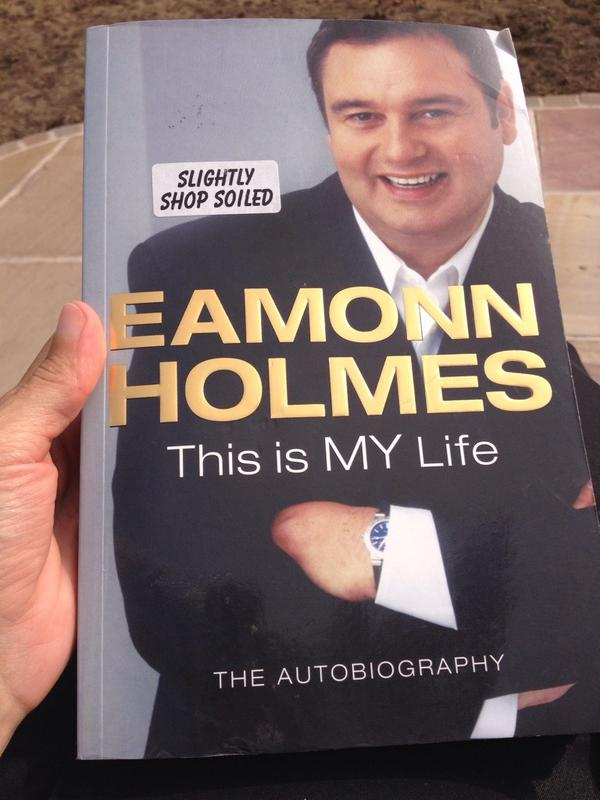 Look what I found the other day, can't believe the shop had slightly soiled you!! @EamonnHolmes How very dare they!