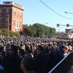 Thousands have gathered for the funeral of Cpl. #BryonDickson. Details, photos: http://t.co/YRoHCKEkwg. #PA #PSP http://t.co/Q6u1FT7r53