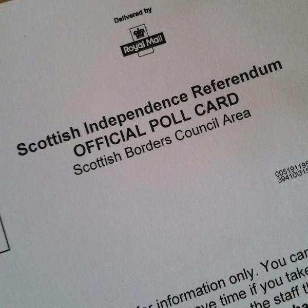 Almost time to do this thing! A historic occasion; the result determines so many things. Hope we stay in UK. #voteno http://t.co/fXlt3QjHYk
