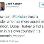 I wanted to ask this question to all Sharif & Bhutto family slaves but I know well get no answers! http://t.co/H48U7IsTA2