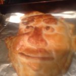 My friend Lucy made Salmond en croute tonight. Genius. #indyref http://t.co/6o0RjTSC5p