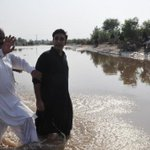 RT @UmairSolangiPK: Pictures: Chairperson #PPP @BBhuttoZardaris visit to flood affected areas of #Chiniot District. #Punjab #Pakistan http://t.co/Zz6IyMgHpH