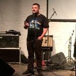 Первый ижевский рок-фестиваль ИТ-компаний начался! Будем отжигать! #rockizhit http://t.co/nApPaEX0fg