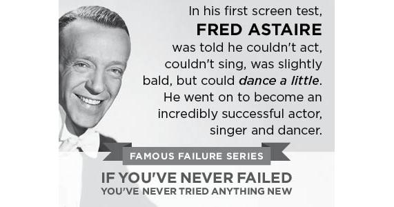 Never be afraid to fail. http://t.co/wC8c9iL4di  http://t.co/zboIO9NwFR