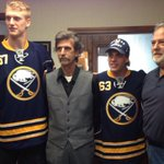 The Tylers deliver season tickets to Sam & Mike Chiodo in Lackawanna. #Myers #Ennis #SabresSTH http://t.co/qtw1gU6dNt