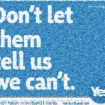 Écosse : le Oui a gagné la guerre des publicités. Florilège des meilleures affiches #indyref http://t.co/bgsHBKbrSv http://t.co/QvKZKEIEpw