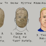 How to draw Peyton Manning. (h/t @EliTerry ) http://t.co/8fXYfHK1yF