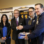 The @BuffaloSabres start delivering season tickets today. Kim Pegula, Tim Murray and Ted Black have Gary Crosbys http://t.co/vvEpIyylMw