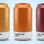Des canettes créées selon les couleurs #Pantone des bières http://t.co/orMiXywz32 http://t.co/bIcsSMKYEM