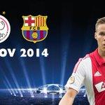 De losse kaartverkoop voor de thuisduels met Barcelona en APOEL Nicosia start as. woensdag. http://t.co/5H0jnVwXp0