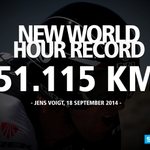 What a HERO! Congrats @thejensie! #HourRecord #RideShimano http://t.co/DCxoKEErfH