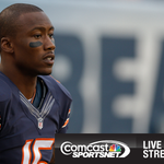 RT @CSNChicago: LIVE: Brandon Marshall is at the podium. Watch the presser on CSN and streaming here: http://t.co/O5ZYMQJ0sX #Bears http://t.co/YaVWlYH8BJ