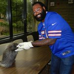 RT @buffalobills: Meet @BrandonSpikes51 at the @buffalozoo this Saturday w/ his new friend Spikes the porcupine! http://t.co/o1Q5FVsZGq http://t.co/4KXDXf9WLc