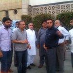 RT @PTISindhOffice: PTI SINDH leadership visiting and finalising the event venue near Mazar e Quaid. @nadirlegharipti @ArsalanGhumman http://t.co/UzXPgvFMYK