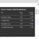 .@YahooFantasy - Its a fumble. Its another fumble!...Every Plays a Fumble! @D_Hest23 broke #FantasyFootball! http://t.co/7H2W0nVOZD
