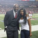 RT @DeionSanders: .@DeiondraSanders and Daddy! #falcons #Truth http://t.co/2xSxn3eA78