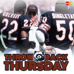 #Bears D-coord. Buddy Ryan w/ S Dave Duerson & LB Mike Singletary in 1985. This #TBT brought to you by @MasterCard. http://t.co/ur1ZaIq903