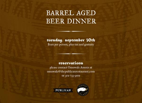 Enjoy eating & drinking for a good cause (@pilotlightchefs)? Don't miss our Barrel Aged Beer Dinner w/ @GooseIsland! http://t.co/mS7NyC1rHA