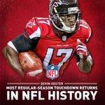 RT @Atlanta_Falcons: With that return, @D_Hest23 broke @DeionSanders NFL record. He now has 20 return TDs. #RiseUp #TBvsATL http://t.co/42t9UQWAC9
