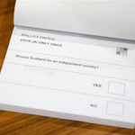 Scotland's entire future on a paper ballot. Only 13 words needed. http://t.co/YxqMIy6hle http://t.co/r0ZFKGJrlH