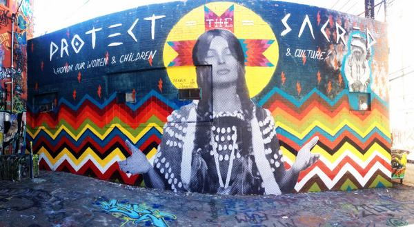 SEA Artist Cheyenne Randall's #protectthesacred Mural Goes Viral Overnight #HonorTheTreaties http://t.co/WTqODJPtNV http://t.co/VZkIypK5pr