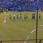Salta @Emelec en la Cancha del Estadio Capwell todo Listo. @Emelec vs #RiverPlateUru @sportradiotv #Sudamericana http://t.co/dU7f2upNzp