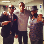"""RT @FrankKnuckles: gospel rapper @lecrae sitting in wit us tonight on @FallonTonight! checkout his album """"Anomaly"""" out now. Dope! ???? http://t.co/CacYIdWsvI"""
