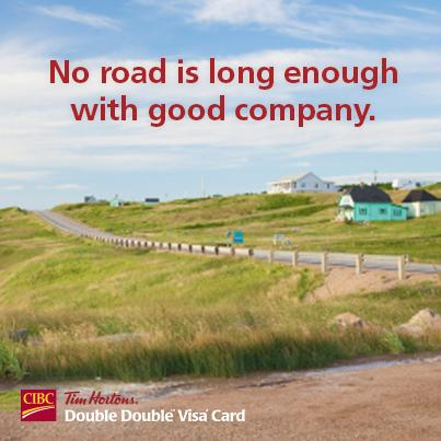 The @TimHortons Great Canadian Road Adventure Contest winner will have THE ultimate road trip! #DoubleDoubleCard http://t.co/WqbMAwpBHT