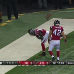 RT @NFLonCBS: Well that was quick. Touchdown @Atlanta_Falcons http://t.co/vvHo3nRwsK