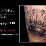 Are you a king or queen? Do you need a crown? #TattooLove #Southend http://t.co/nXCqlMIGQG