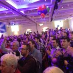 """RT @cassiewerber: Crowd hear Alistair Darling """"the silent have spoken"""", he says. #indyref http://t.co/xB8rpRj2TQ"""