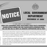 RT @desmukh: Hilarious. Sindh Local Govt Dept warns ghost employees to show up to work within a week or face disciplinary action http://t.co/DcbrsagKiD