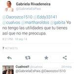 RT @cualvos: Para los que se perdieron el tuit de @GabrielaEsPais .. hace 30 minutos #YsiTePasaAti http://t.co/XwUUJwJp6K