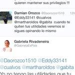RT @YSiTePasaATi: Ya borró el tuit! Pero la decepción de recibir esa clase de respuesta de usted NO se puede borrar! @GabrielaEsPais http://t.co/83xQ3MBb5d