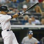 RT @NBCSports: WATCH: Derek Jeter hits first home run at Yankee Stadium this season during final homestand http://t.co/3Z9HUpN2be http://t.co/iiJmKag0IP