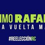 Ánimo @MashiRafael! Una vuelta más! http://t.co/M5sgrjibfp #ReelecciónRC #ElPasadoNoVolverá http://t.co/2DqoLJDSXS