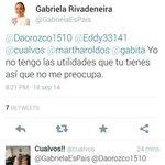 Qué pasó @GabrielaEsPais c supone q l gobierno representa al pueblo,y a ud no le importa! @YSiTePasaATi @MashiRafael http://t.co/QbyWVAbdx5
