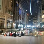 RT @KrisReports: This is currently the line foe the iPhone 6 at the Toronto Eaton Centre. #iPhone6  #iPhoneProblems http://t.co/0ZKfpOl7SP