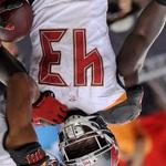 RT @wreckthisleague: When Bobby Rainey gets upended his jersey says it all #Eh #ThursdayNightFootball @PhilHecken @UniWatch @drewmagary http://t.co/UgrbC7W7To