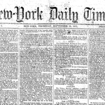 RT @nytimes: Happy birthday to The New York Times, which first published 163 years ago today http://t.co/hS5PljU1kS http://t.co/M31sgOUag8