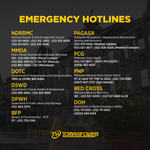 RT @TomasinoWeb: Thomasians, here are the hotlines you should call in case of emergency. #MarioPH http://t.co/jsJRhkF3Ry
