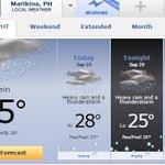 #ABISOMARIKENYO@Dost_pagasa Marikina City 2-Day Weather Forecast http://t.co/OphOeh5oc4