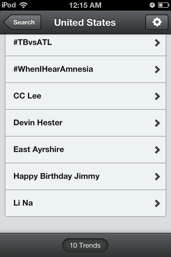 """Aww GUYS LOOK """"Happy Birthday Jimmy"""" is trending in the U.S.!!! @jimmyfallon http://t.co/zaIzr1yI7j"""