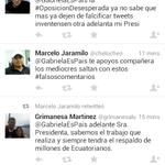 Y es asi como trabaja el #trollcenter luego de la cagada de la Presidenta de la Asamblea #Ecuador http://t.co/67DgQR1fUo