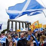 RT @livedoornews: 【速報】スコットランド独立は否決、BBCが報じる http://t.co/JyFprNdbBT 19日早朝の英国放送協会(BBC)の開票速報によると、反対54.3%、賛成45.7%で否決される見込み。 http://t.co/91f9VCXyLc