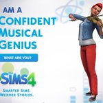 I took #TheSims4 Personality Test, I'm a Musical Genius! ha! What kind of Sim are you?! http://t.co/wC2kD0t2le #ad http://t.co/cYxiethO2T